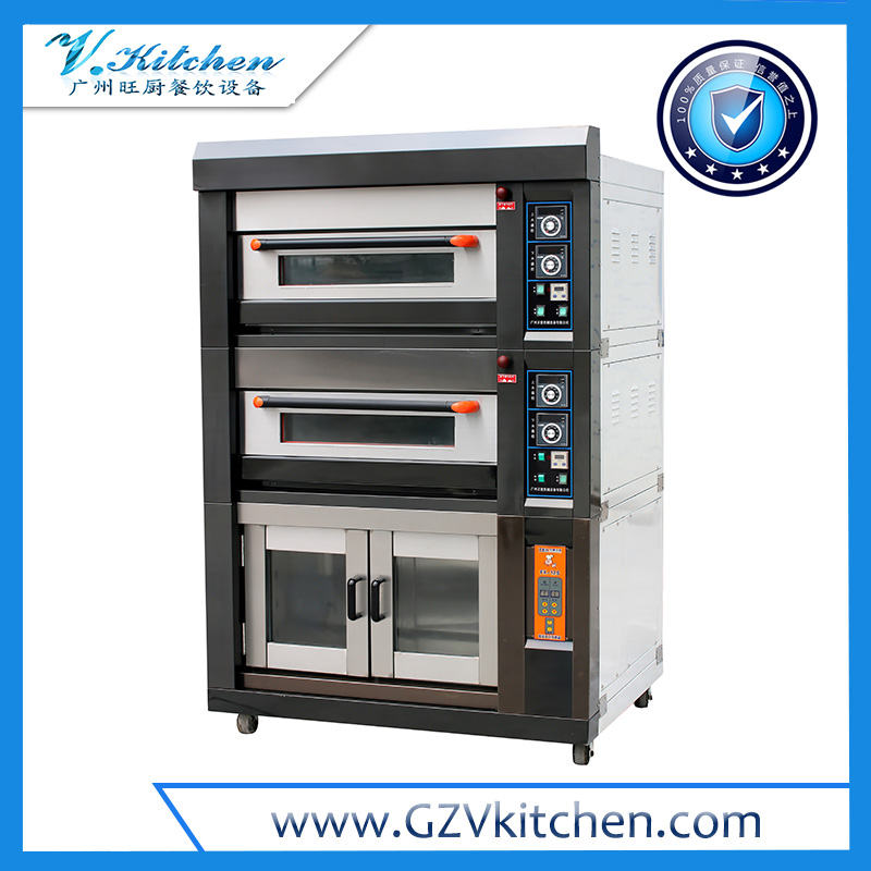 Luxurious Electric Deck Oven 4-Tray 8-Proofer