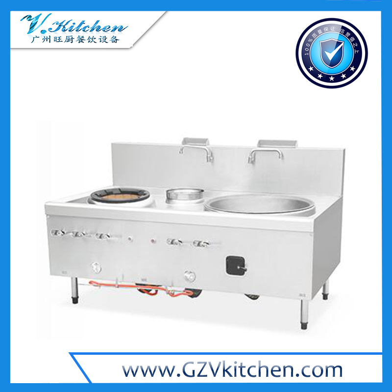 Chinese Wok with Large Cooking Range