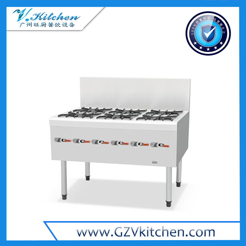 Chinese 6-Open Burner