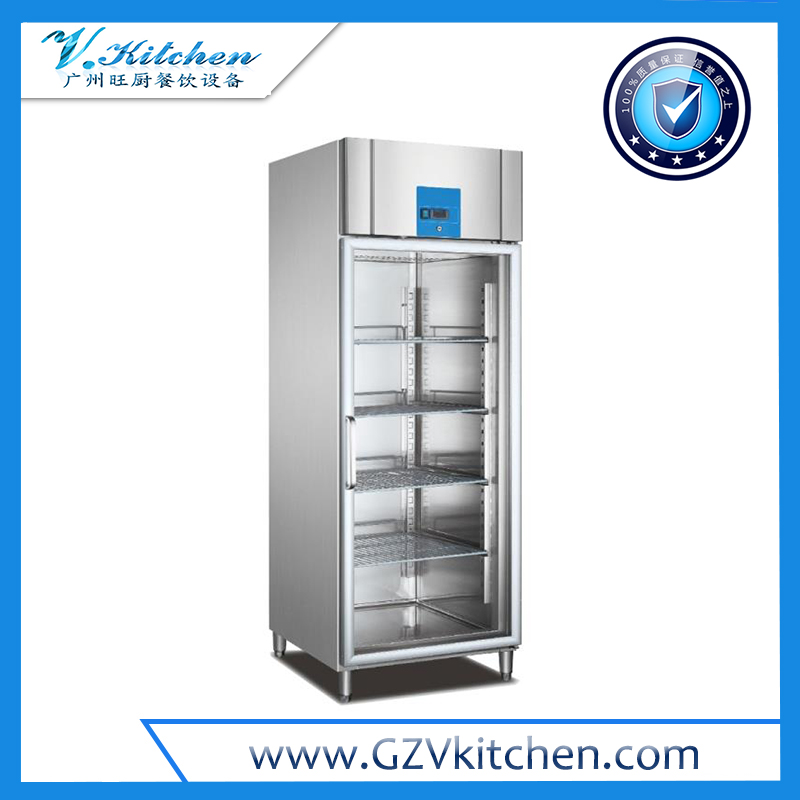 Reach-in Refrigerator 1-Glass Door, GN Series
