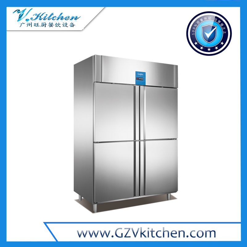 Reach-in Refrigerator 4-Half Door, GN Series