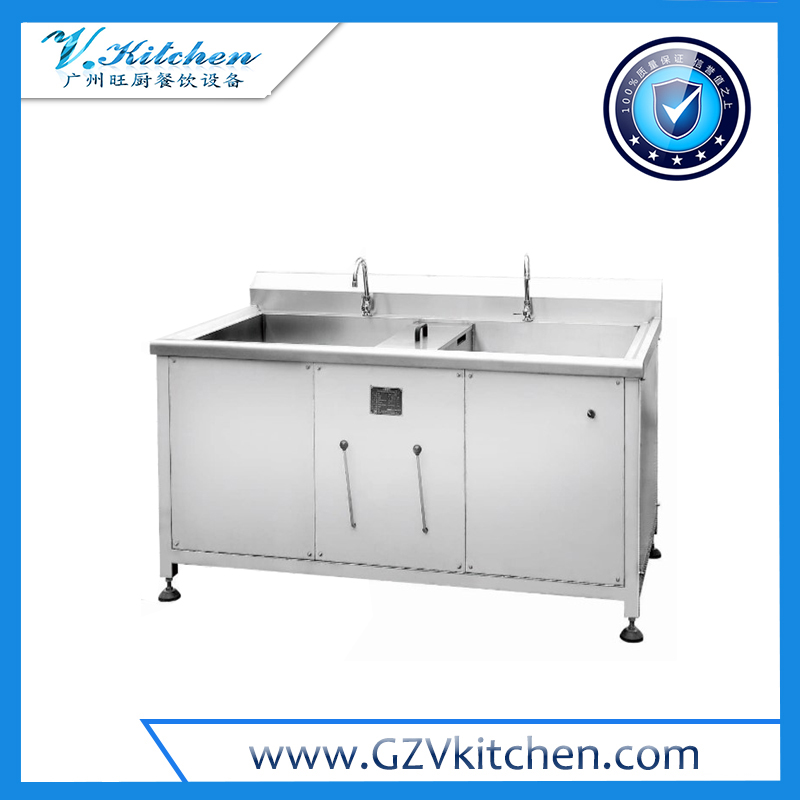 Double Tanks Vegetable Washer