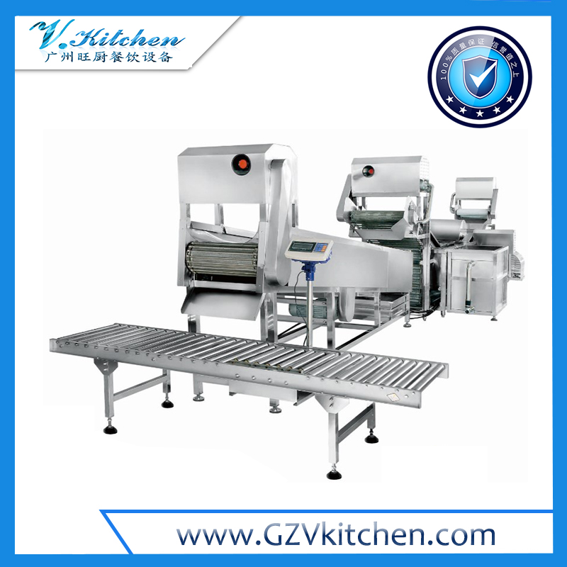 Automatic Consecutive Root Vegetable Processing Line