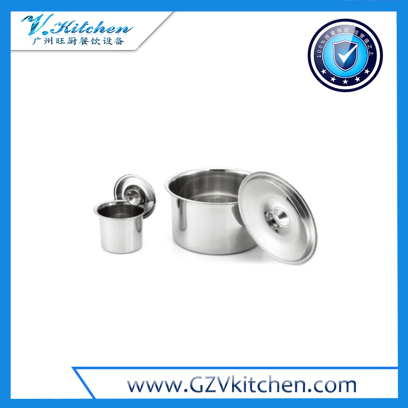 Stainless Steel Bowls Lids