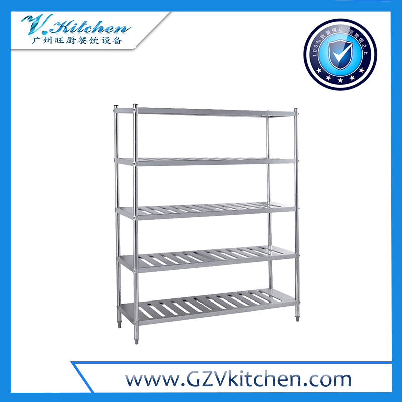 Stainless steel Shelving 5-Tier