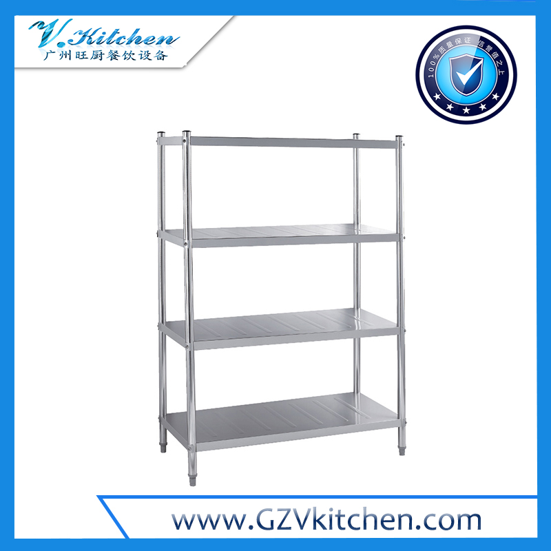 Stainless steel Shelving 4-Tier