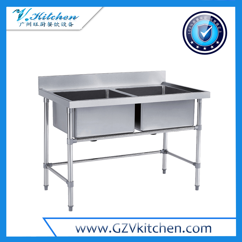 Stainless steel 2-Bowl Sink
