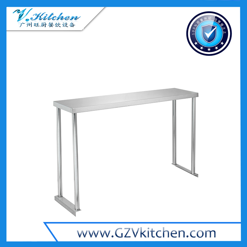 Stainless steel 1-Tier Over Shelf